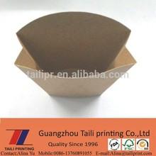 Hot ! Brown kraft paper French fries box / fries packing box *FB20141231-3