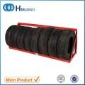 baratos de aço do pneu display wall montado em rack