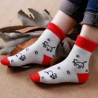 Cheap wholesale men thick white knit terry warm fuzzy socks
