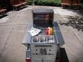 Top vender cachorro quente pequeno& lanche vending carrinho de reboque para venda zs-ht110 um