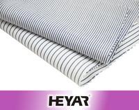 cotton stripe fabric black and white