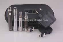 Hot selling ajustable e-cig battery ecig bvc coil clearomizer China wholesale vaporizer pen starter kit