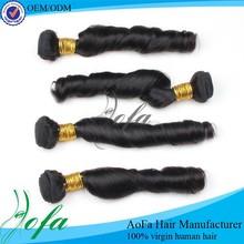 Hot sale !!! Cheap fashion spring curl cheap brazilian hair weave