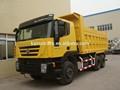 iveco هونغيان 25 طن تفريغ الشاحنات الثقيلة، iveco technoogy
