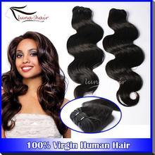 Luna Hair manufacturer wholesale keep full cuticle natural color virgin brazilian human hair