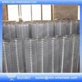 Cercas de ferro líquido aramefarpado 1/4 polegadas galvanizado engranzamento de fio soldado para ratos