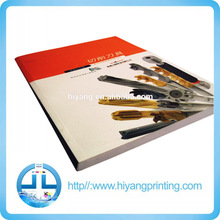Professional printing factory printing cunstomized machine catalogue in China