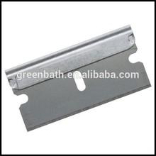 in acciaio inox rivestiti di platino sostituibile doppia lama di rasoio usa e getta