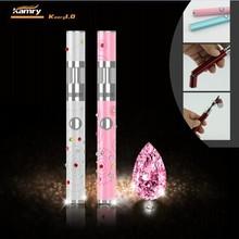 2014 Facory wholesale electronic cigarette 650mah kamry 1.0 diamond ego battery China wholesale