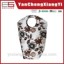 Cotton Like Japanese Round With Handle dirty Clothing bathroom womanOEM laundry bag
