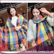 New fashion big cashmere scarf and shawl