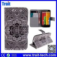 For Motorola XT1032 XT1031 Moto G Leather Flip Cover Case