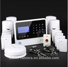 CE+ROSH+FCC German Zuhause Alarmanlage ! Download APP by smartphone for homsecur intruder burglar alarm