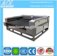 AOL Auto feeding new model fabric wool felt laser cloth laser cutting machine cutter cnc