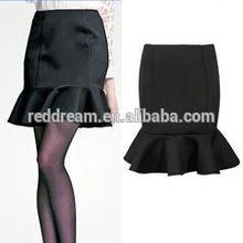 fashion fancy women skirt 2014 women coat and skirt