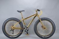 Luxurious 18K 26 inch fat bike snow racer