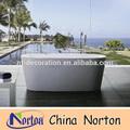 Lifesize estilo simples banheira de mármore branco nts-ba069