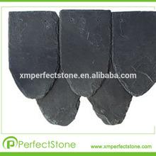 beautiful natrual stone different sizes black slate good quality