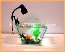 2015 Promotional Clear large glass fish tank/large glass aquarium Wholesale