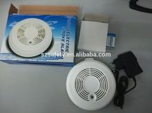 Wireless portable smoke detector fire alarm sensor for GSM/PSTN alarm system