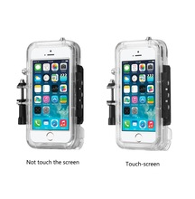 shenzhen factory of waterproof pc cell phone case for iphone case in underwater 20m