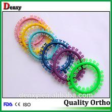 Dental orthodontic fashion ligature tie kitty mickey flower dental ligature tie dental instruments
