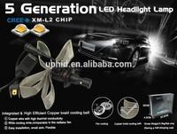 G5 All in one car led headlight kit, H4 H7 H8 H10 H11 H16 9005 9006 2000Lm led car headlight kit