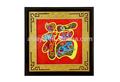 عيد الربيع الصينى جدار اللوحة الديكورات المنزلية المصنوعة يدويا التطريز كلمة فو
