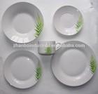 20pcs porcelain dinner set with rose design /porcelain dinner set/vajilla