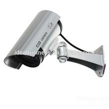 Fake Security Camera CCTV Home Surveillance Dummy IR Infrared Bullet Camera with Flashing Light