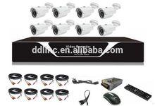 8CH camera system cctv camera set