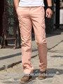 2015 homens elegantes calças de carga