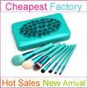 7pcs portable personalized makeup brush kit synthetic hair Cosmetic Brush set