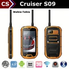 Cruiser S09 ip68 1.2GHZ android 4.4.2 3000mah battery rugged android nfc smartphoone