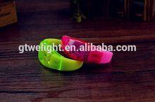 Contemporary promotional pub led flashing bracelets