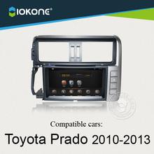wifi 3g internet android car radio dvd player GPS navigator bluetooth for Toyota PRADO 2010-2013