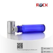 10ml Blue glass test tube with aluminum screw cap
