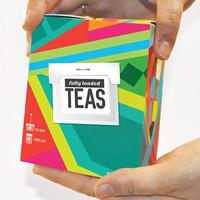 Chinese gift design empty tea box