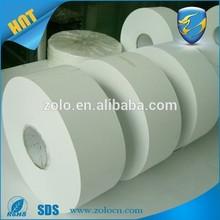 Eggshell Thin material vinyl roll/white vinyl adhesive labels roll/Unique destructible vinyl materials