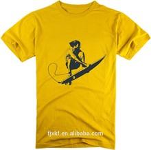 2015 popular summer short blank sleeve t shirt wholesale colorful design logo t shirt