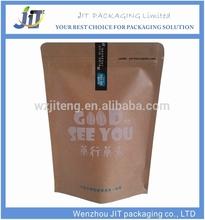 Direct Manufacturer customized printed ziplock stand up paper kraft bag
