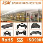 Metro/Subway/car door rubber strip peotector co-extrusion rubber edge sealing