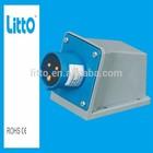 IP67 Surface Mounted 32A 4P IEC Industrial Waterproof Plugs