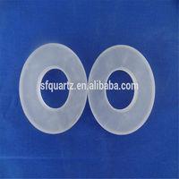 square opaque thick quartz plate, sand blasted quartz glass, quartz glass base