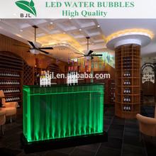 bubble bar decoration interactive led table