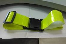 High visibility reflective waist belt
