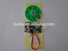 Light sensor music chip for gift box
