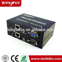 Factory Sell VGA TO RJ45 utp CAT5 CAT6 Adapter Lan cable Extender Connector