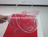 Custom made size polo shirt vinyl pvc tote bags
