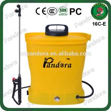 Good Atomization 16L Pandora Chinese Backpack Farmer Electric Sprayer